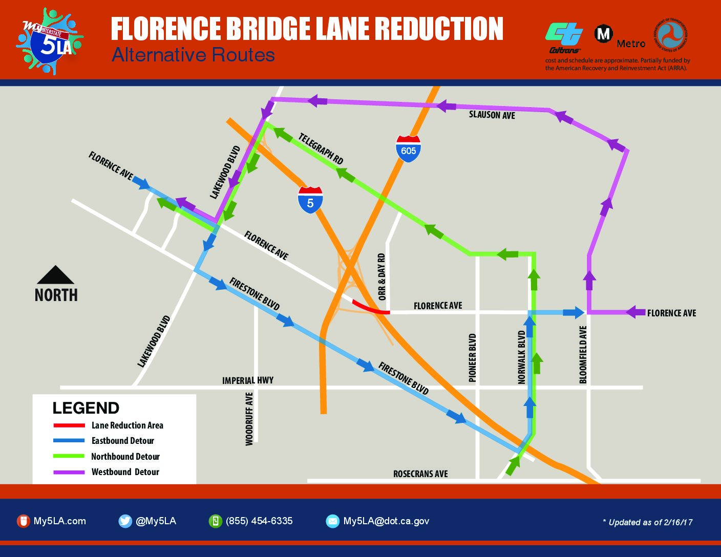 FLORENCE AVENUE INTERCHANGE PROJECT – Week of March 5, 2017 on map of oregon city area, map of tuscaloosa area, map of grand lake area, map of redmond area, map of elmira area, map of newport area, map of eureka area, map of downtown nyc area, map of council bluffs area, map of san luis area, map of salida area, map of murrieta area, map of evergreen area, map of springfield area, map of ontario area, map of fairfax area, map of central oregon area, map of paynesville area, map of globe area, map of east phoenix area,