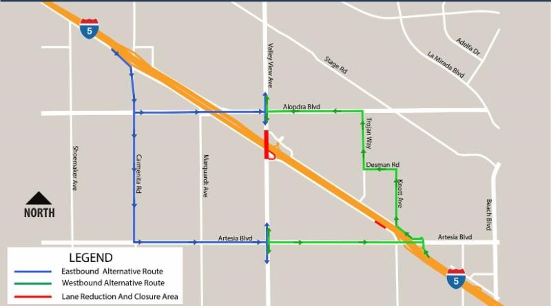 VALLEY VIEW AVENUE INTERCHANGE PROJECT – February 5, 2017 **Updated